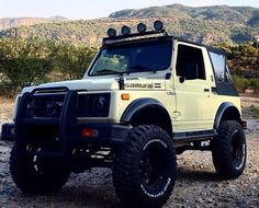 Samurai, Jimny Sierra, Jimny Suzuki, Suzuki Cars, Mini 4wd, Off Road Adventure, Jeep 4x4, Top Cars, Modified Cars