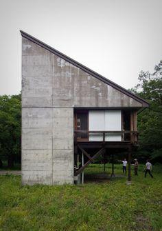 Mayumi Miyawaki /// Fukumura Box (White Triangle) /// Nasu, Tochigi, Japan /// 1974-75
