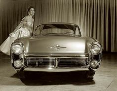 Aerodynamic and bold 1955 Lincoln Indianapolis (intended for the 1955 Turin Motor Show):