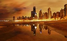 WALLPAPERS HD: Chicago Nights