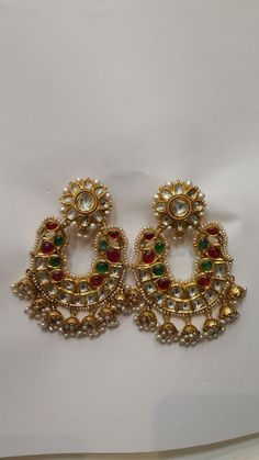 """Gorgeous And Elegant Drop Style Featuring 9 Sparkly Channel-Set Round Brilliant Cut Diamonds In Each Earring! Both Earrings Are Both Stamped """"F. Elegant Woman, Women's Earrings, Dangles, Chinese, Brooch, Yellow, Diamond, Gold, Stuff To Buy"""