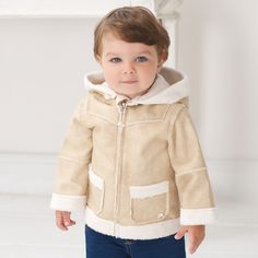 Baby Coat with Hood - Coats & Jackets - | Dave Bella Kids Clothes www.davebella.co.uk