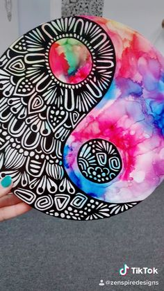 Best Picture For mandala artwork For Your TasteYou are looking for something, and it is going to tell you e Doodle Art Drawing, Mandala Drawing, Art Drawings, Mandala Art Lesson, Mandala Artwork, Canvas Art Projects, Diy Canvas Art, Dibujos Zentangle Art, Art Painting Gallery