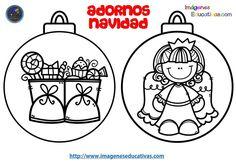 Colección de BOLAS DE NAVIDAD para colorear totalmente originales y listas para descargar - Imagenes Educativas