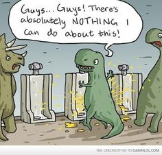 My Life, My Views, My Entertainment...: T-REX Urinal