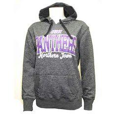 University Of Northern Iowa Black Glitter Hood (SKU 1175959160)