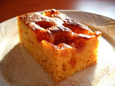 Házias konyha: Baracklekváros szelet Banana Bread, French Toast, Favorite Recipes, Cooking, Breakfast, Cake, Food, Ideas, Kitchen