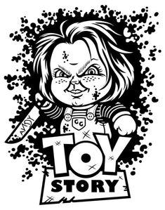 Vinyl Projects, Toy Story, Cricut, Silhouette, Chucky, Crafty, Halloween, Toys, Cards
