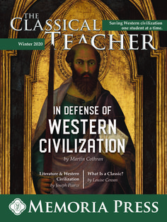 The Winter 2020 Edition of The Classical Teacher