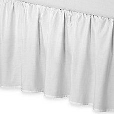 Smoothweave™ 21-Inch Ruffled Bed Skirt
