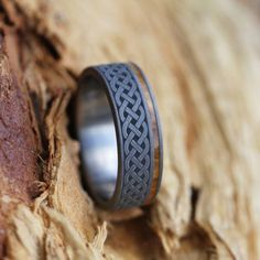 Celtic Knot Ring Renaissance Wedding Ring in by jewelrybyjohan