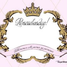 { Prinsesse-Invitasjon // Gratis nedlasting }
