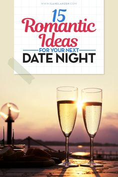 Romantic ideas | Everyone has the ability to plan a romantic date night. You really only need three ingredients to plan a romantic night: surprise, excitement, and love | http://www.ilanelanzen.com/loveandrelationships/15-romantic-ideas-for-your-next-date-night/