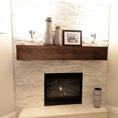 Contemporary Home Corner Fireplace Design Ideas, Pictures, Remodel, and Decor - page 16