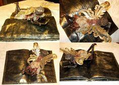 """Fairie Coffee table Book"" Paverpol Sculpture"