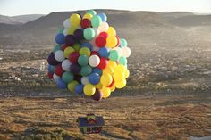 Real-life Up's flying house By Monica on Tue Nov 20 2012