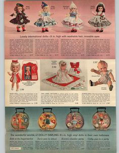 """ORIGINAL PAPER ADVERTISEMENT ! NOT REPRINTS, Great ads from a 1965 Penney publication. These ads show little wear. Pages are mostly in Good USED condition, see scans for details. Measures about 8"""" X 11"""". 