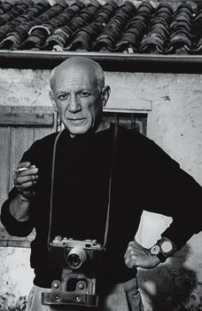 Picasso and a Lomo FED 2 camera