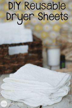 5 Homemade Fabric Softeners