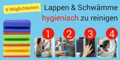 Keine Chance für Bakterien: 4 Wege, Lappen und Schwämme zu reinigen » Checkliste download