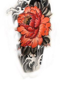 Tattoos, Color, Flowers, Tatuajes, Tattoo, Colour, Tattos, Tattoo Designs, Colors