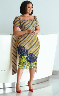 African fashion style, African print dresses, trendy African dresses 2020