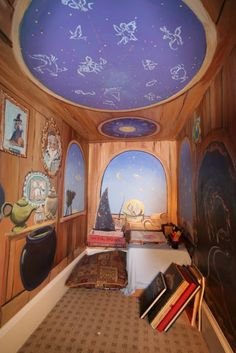Ms. O Reads Books: Amazing Book Nook Under The Stairs
