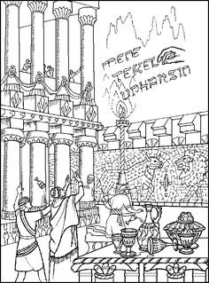 bible printables - old testament bible coloring pages - daniel 6 ... - Bible Story Coloring Pages Daniel