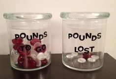 Pounds to go Pounds Lost