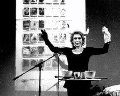 In this 1991 performance 'Ask the Goddess', Schneemann personifies the vulvic realm in an exploration/ examination of the cultural taboos and secret histories of the vulva. Carolee Schneemann, Western Canon, Vagina, Personal Narratives, The Secret History, Feminist Art, Tabu, Thesis, Author