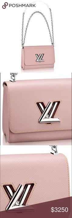 louis vuitton twist mm in rose ballerine this chic little bag has a secret its