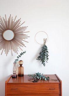 L'eucalyptus comme simple green touch - Marie Claire Maison