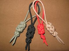 Some #paracord #key #fobs
