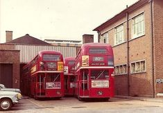 Routemasters AW Rt Bus, Model Railroader, 1980s Childhood, Routemaster, Double Decker Bus, Bus Coach, London Bus, London Transport, Odd Stuff