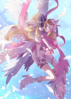 Hikari & Angewomon | Digimon Adventure #anime