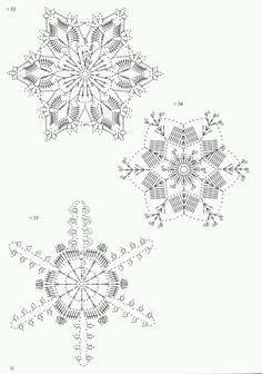 Tammy Jones's media content and analytics Crochet Snowflake Pattern, Crochet Stars, Crochet Snowflakes, Thread Crochet, Crochet Granny, Crochet Motif, Crochet Doilies, Crochet Stitches, Crochet Patterns