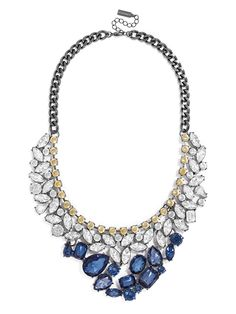 A statement necklace is everything when creating the perfect holiday party outfit - and this one is gorrrgeous!!