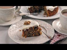 Karotten und Walnuss Kuchen (Carrot and Walnut Cake) - Splendid Britain