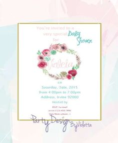 Boho Chic Rustic Baby Shower | CatchMyParty.com