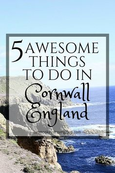 5 Awesome Things to Do in Cornwall, England. Now I know, England is more than just the home of the popular Harry Potter movie series and well-known landmarks.  Earlier this year, one country got ticked off on my must-travel list when I, together with my parents, had a month-long family visit in England, United Kingdom.