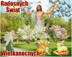 Wielkanoc: Animowane kartki wielkanocne z życzeniami Garden Sculpture, Easter, Vegetables, Outdoor Decor, Humor, Photos, Cheer, Easter Activities, Humour