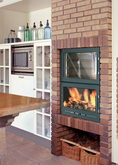 Chimenea con horno dise o util casas y cosas - Chimeneas en alicante ...