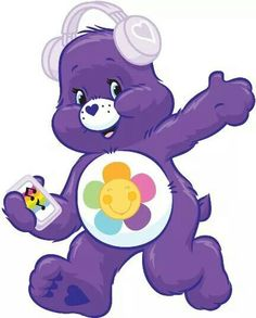 Music for the soul Care Bears, Care Bear Party, Care Bear Birthday, Bear Pictures, Cute Pictures, Owl Winnie The Pooh, Care Bear Tattoos, Bear Clipart, Bear Wallpaper