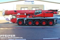 Used telescopic crane available at Pfeifer Heavy Machinery. Item Number PHM-Id 07340, manufacturer TEREX-DEMAG, model AC100, year of construction 2004, kilometers 150527, hours 7368, hours superstructure 11179, loading (lifting) capacity (kg) 100000, boom length maximum (m) 50, fuel Diesel. More cranes at www.pfeifermachinery.com.