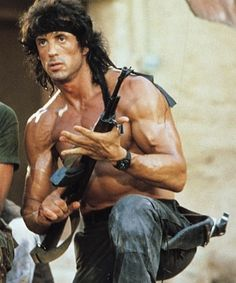 Sylvester Stallone as Rambo