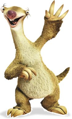 "Ice Age: Sub-Zero Heroes - Sidney ""Sid"" (John Leguizamo) is a ground sloth who… Cartoon Wallpaper, Disney Wallpaper, Cartoon Movies, Cartoon Characters, Cartoon Clip, Ice Age Funny, Ice Age Sid, Sid The Sloth, Sloth From Ice Age"