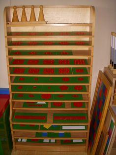 Montessori fraction materials