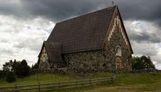 St. Olaf's Church in Tyrvää, Finland by JussiV, via Flickr