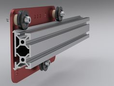 MakerSlide Open Source Linear Bearing System by Barton Dring, via Kickstarter.