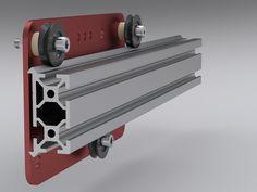 MakerSlide Open Source Linear Bearing System by Barton Dring, via Kickstarter.